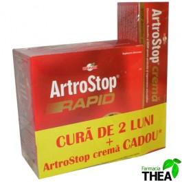 ArtroStop Rapid 180 tablete + ArtroStop crema GRATIS