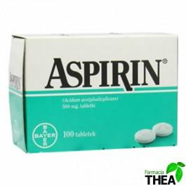 Aspirin 500 mg Bayer 100 comprimate