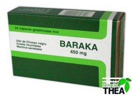 Baraka 450 mg 24 capsule
