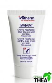 Ivatherm Ivamat crema matifianta - ten gras sau mixt 40ml