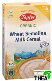 Topfer Cereale gris din grau si lapte 6luni+ 200g