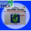 Calciu cu vitamina D3 20 plicuri Additiva