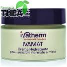 Ivatherm Ivamat crema hidratanta - ten sensibil, normal sau mixt  50ml