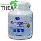 Omega 3 ulei de peste 120 capsule Lysi