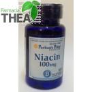 Niacina (vitamina B3, acid nicotinic, vitamina PP) 100mg Vitaking 100 comprimate