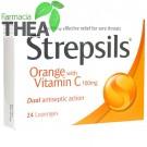 Strepsils Portocale & Vitamina C 24 comprimate